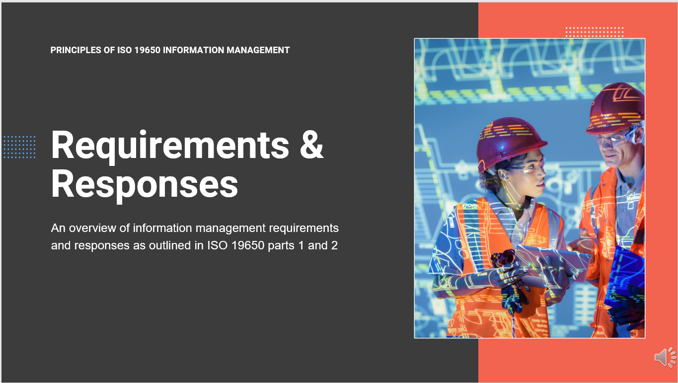 ISO 19650-2 Requirements and Responses