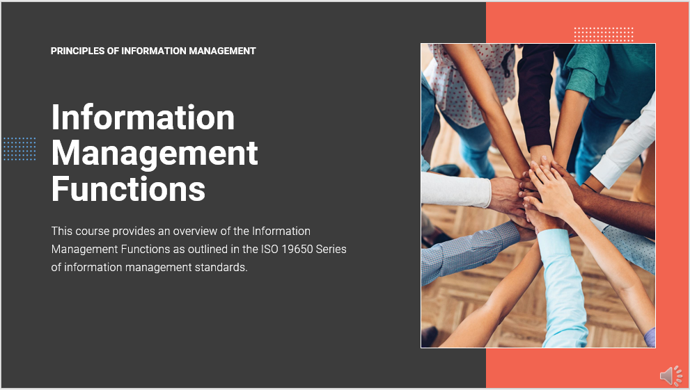 ISO 19650 Information management functions