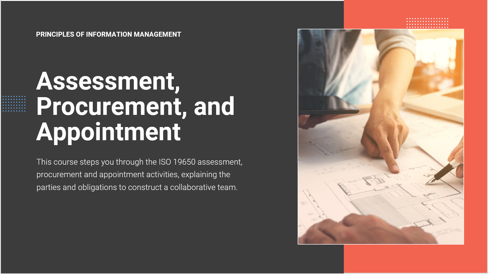ISO 19650-2 Assessment, Procurement, and Appointment
